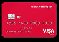 Bank Norwegians kreditkort