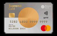 Kreditkortet Supreme Card Gold