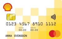 Ett bensinkort från Shell